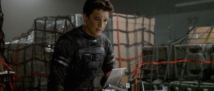 Miles Teller as Reed Richards in Fantastic Four