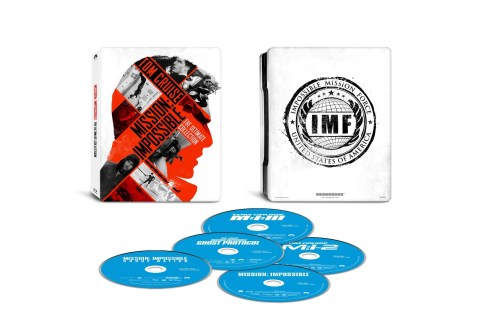 Mission Impossible five film set (discs)