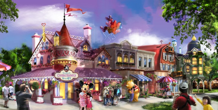 Sweetheart Confectionary Coming to Shanghai Disneyland