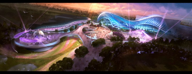 Tomorrowland in Shanghai Disneyland