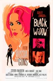 Olly Moss - Black Widow rough