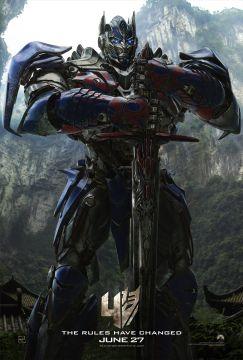 Optimus Prime Transformers 4 poste