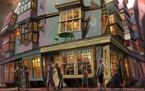 Potter Diagon Concept Ice Cream