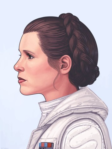Princess Leia by Mike Mitchell