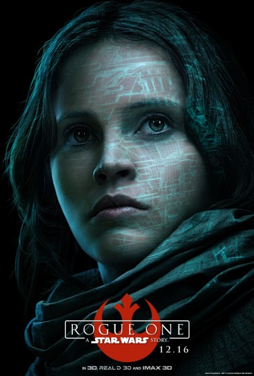 rogue one character poster jyn orso