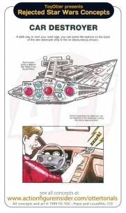 Rejected Star Wars - Car Destroyer