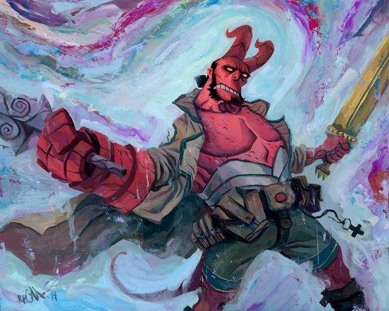Rich Pellegrino - Hellboy