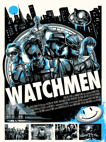 Robert Bruno - Watchmen Variant