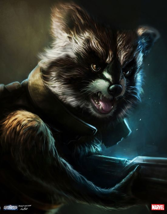 Rocket Raccoon - Luke Mandie