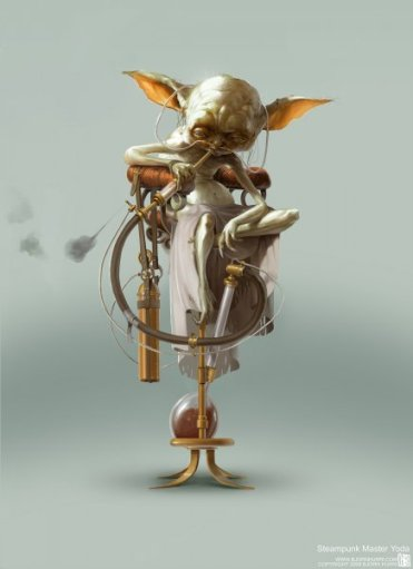Steampunk Yoda