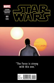 STAR WARS #1 CASSADAY TEASER VAR