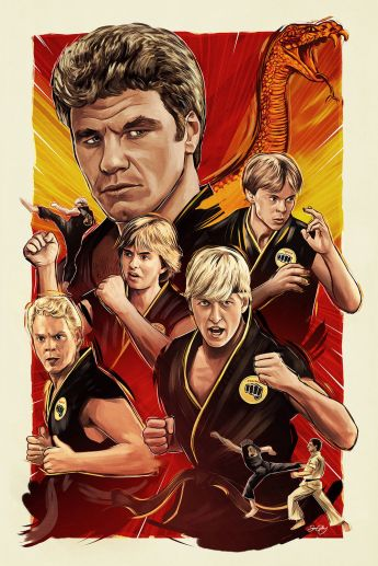 Sam Gilbey - Karate Kid