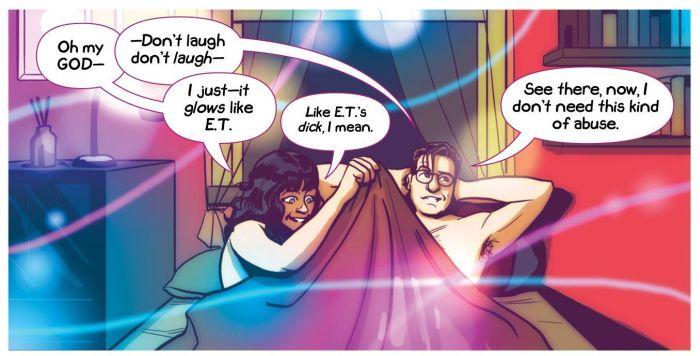 Sex Criminals bed