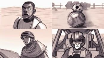 Sidious7 Force Awakens fan art