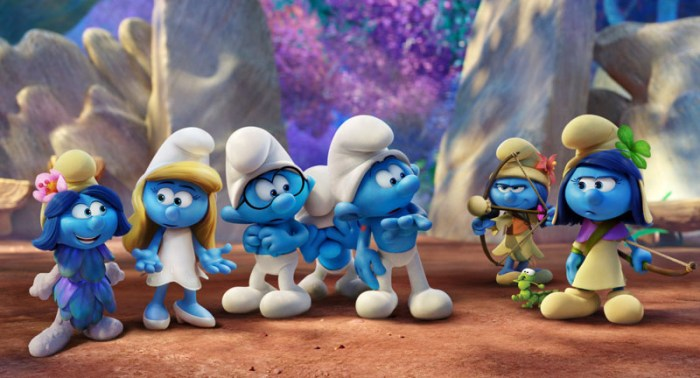 Smurfs: The Lost Village preview