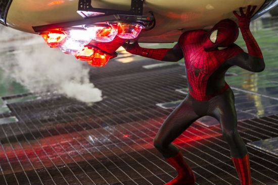 Spider-Man 2 cop car
