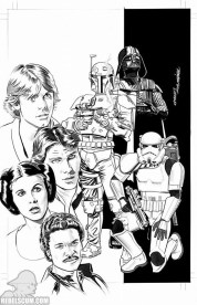 Star Wars 1 Mike Meyhew Zapp BW