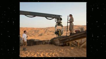Star Wars 7 images - BTS JJ Abrams and Daisy Ridley