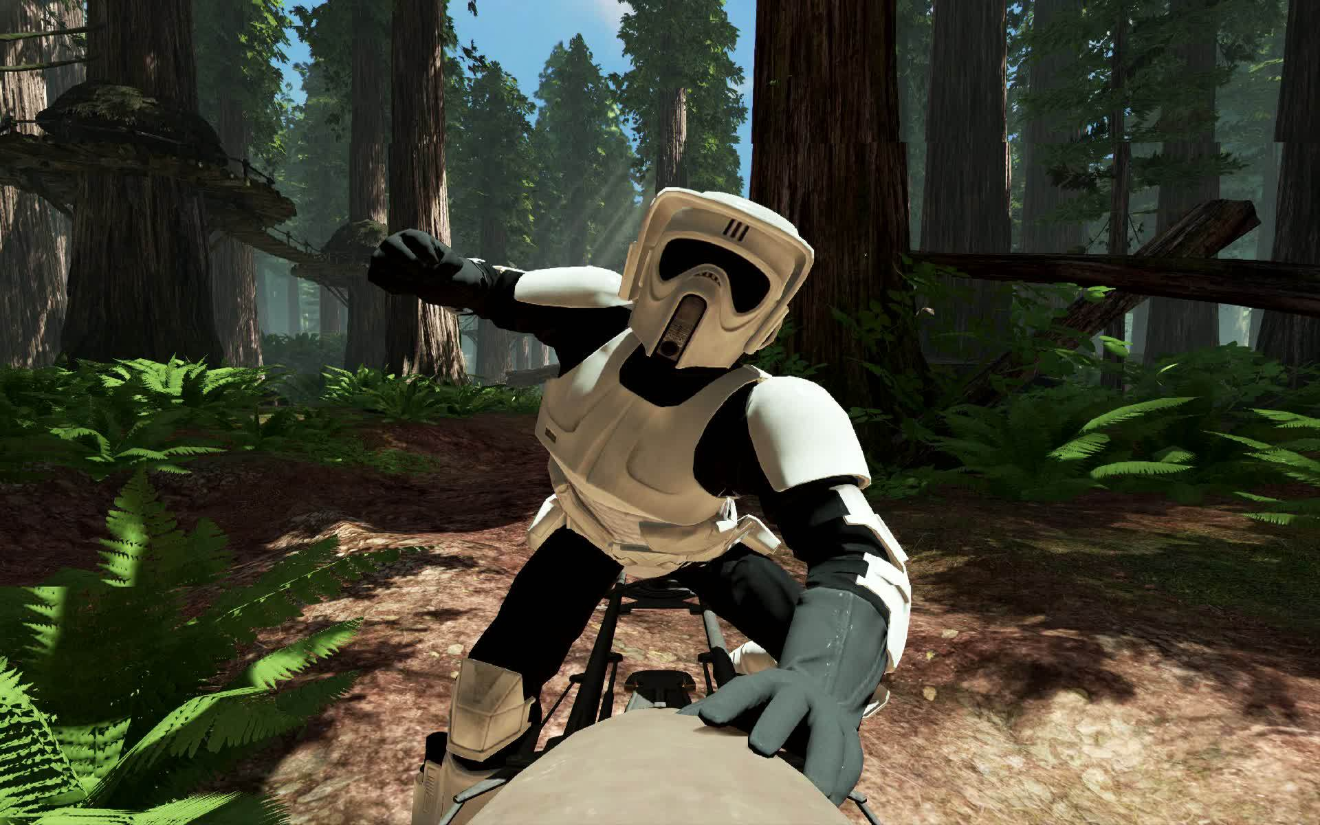 Experience rich and living Star Wars multiplayer battlegrounds across all three  eras: prequel, classic, and new trilogy. Customise and upgrade your heroes, ...
