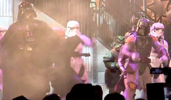 Star Wars Dancing