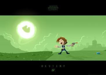 Star Wars - Little Han's Destiny by Nick Scurfield