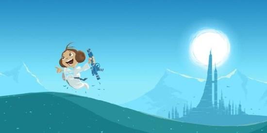 Star Wars - Little Leia's Destiny by Nick Scurfield (header)