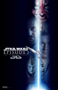Star Wars Phantom Menace 3D 1