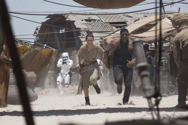 Star Wars The Force Awakens finn rey 2