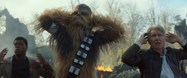 Star Wars The Force Awakens han and chewbacca