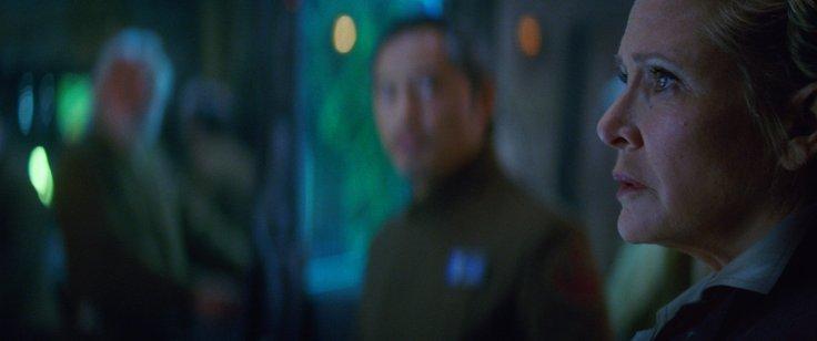 Star Wars The Force Awakens leia