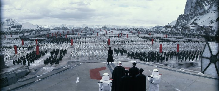 Star Wars The Force Awakens starkiller base 2