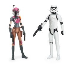 Star Wars toys - Sabine Wren and Stormtrooper