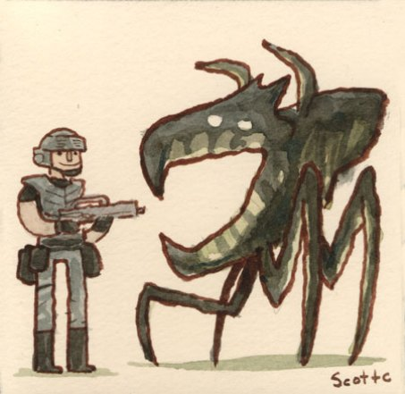Starship Troopers 2 - Scott C