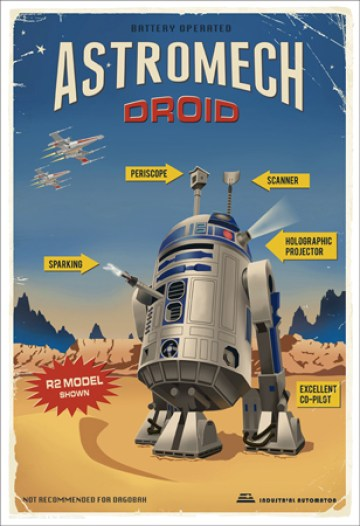 Steve Thomas -R2D2 Star Wars