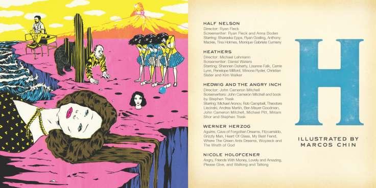 Sundance Film Festival A to Z book - page H