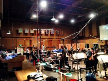 The calm before the storm....Lockdown doesn't stand a chance against a room full of LA musicians.