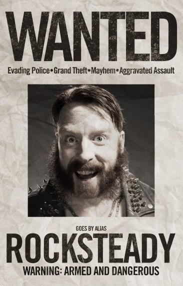TMNT2 poster - Rocksteady