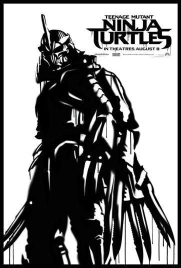 Teenage Mutant Ninja Turtle Street Poster Shredder