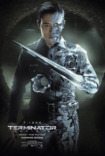 Terminator Genisys T-1000 Character Poster