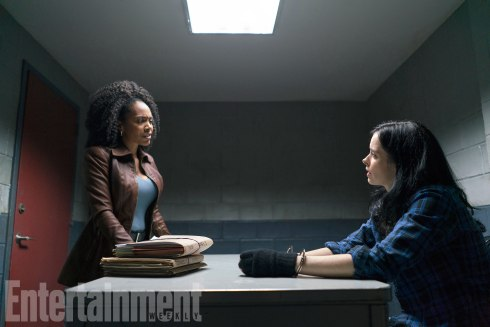 The Defenders - Misty Knight (Simone Missick) and Jessica Jones (Krysten Ritter)