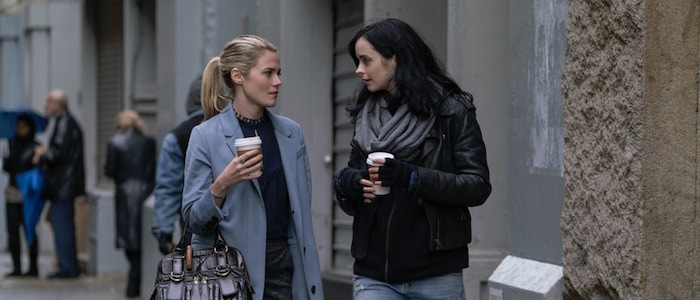 The Defenders details / Trish Walker and Jessica Jones