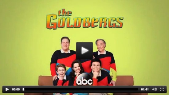 The Goldbergs Goonies clip