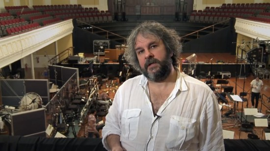 Peter Jackson in The Hobbit The Desolation of Smaug Production Diary 14