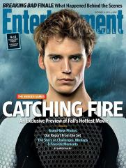 The Hunger Games Catching Fire EW Cover - Finnick (Sam Claflin)
