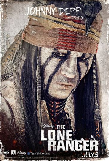 The Lone Ranger - Johnny Depp as Tonto