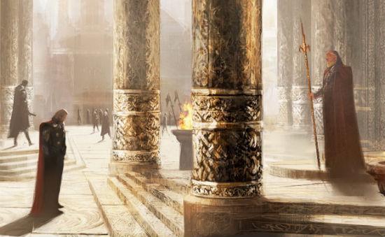 Thor Dark World Concept Art header