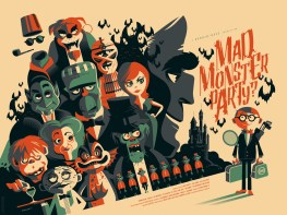 Tom Whalen - Mad Monster Party variant