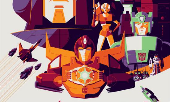 Tom Whalen - Transformers The Movie header