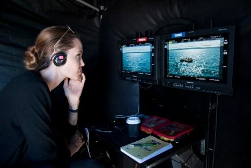 Angelina Jolie directing Unbroken