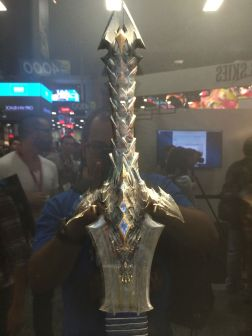 Warcraft sword 1